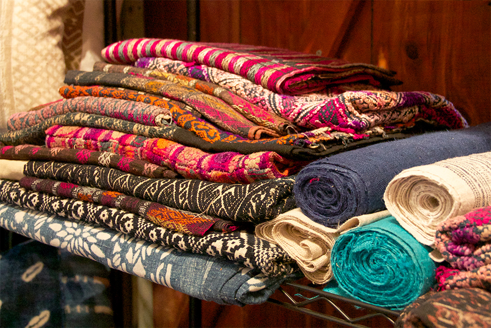 asia textile weaves