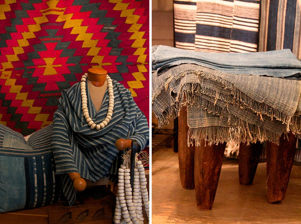 african indigo textiles